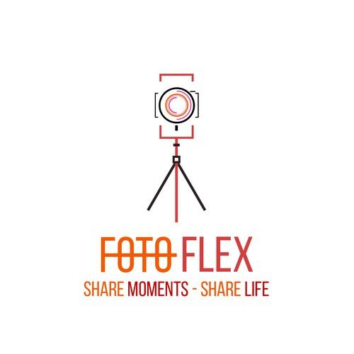 Foto Flex - Logo design...
