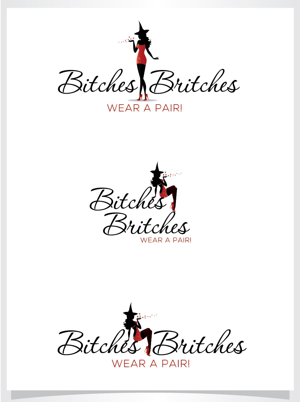Bitch? Oh,YES! Design the mark that powerful, strong, good women secretly wear!