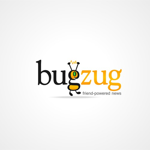 Logo for web 2.0 news site:  BUGZUG!