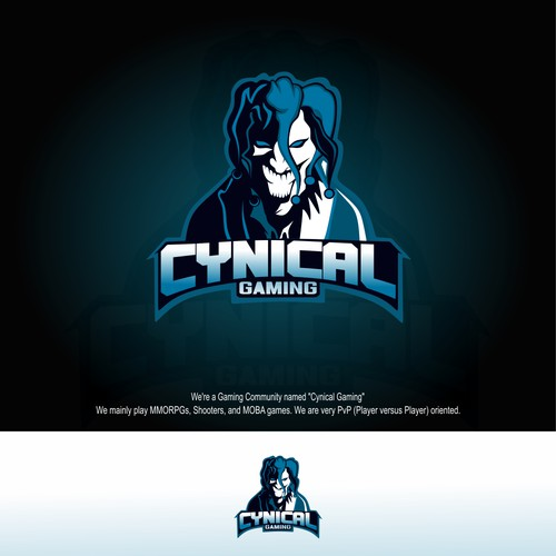 Character logo for Cynical Gaming