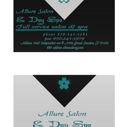 Win me over with a vintage/posh design for my salon and spa
