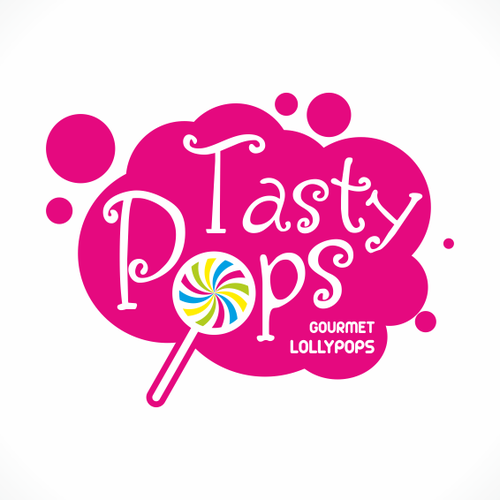 New logo for Tasty Pops