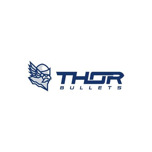 Bold logo for Bullet Company