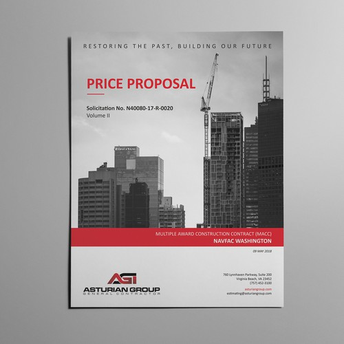Price Proposal - Word template