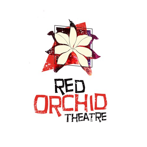 Red Orchid theatre logo design