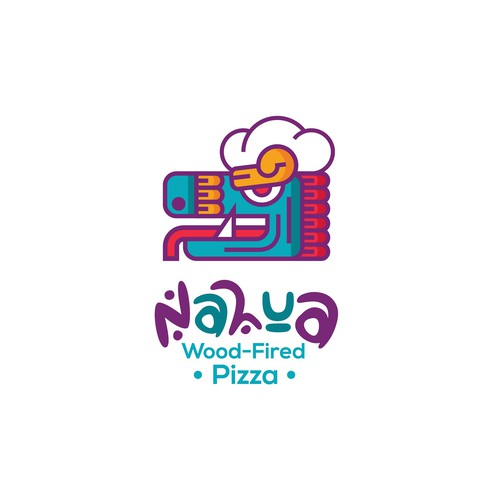 Logo concept for wood-fired Pizza