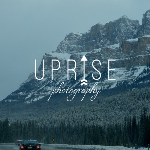"Logo design for ""Uprise photography"""