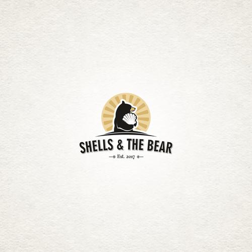 Logo with a bear.