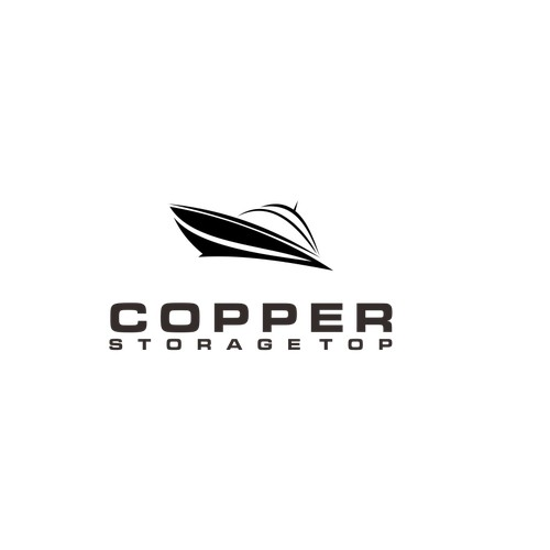 Create a sporty creative logo for Copper Top Storage