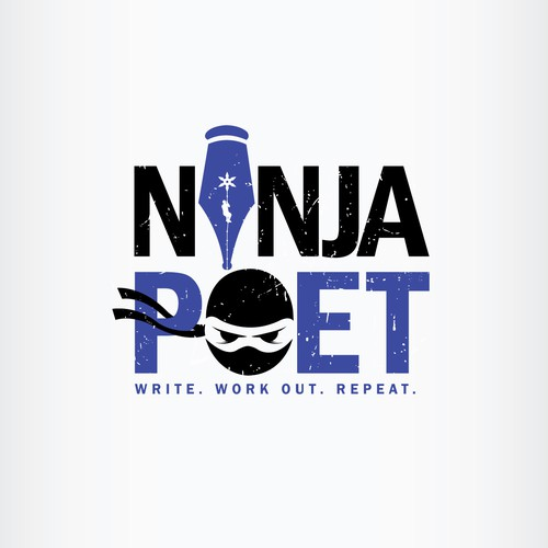 Ninja Poet Logo winner