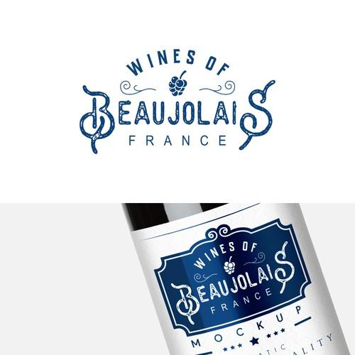 Classic logo for wine Company