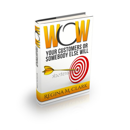 Create a Book cover for Customer Service Book