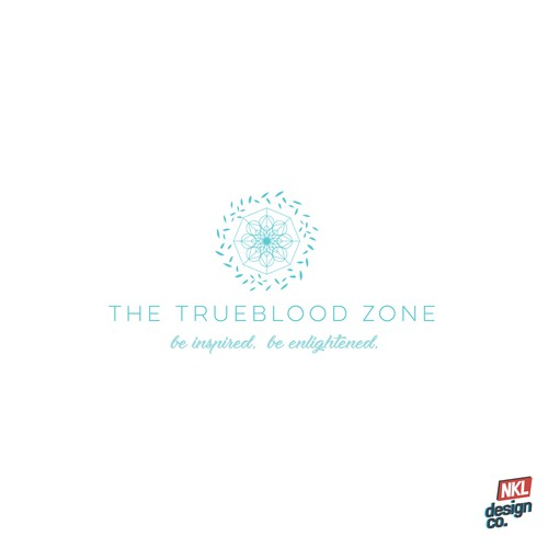 Modern Logo Concept for The Trueblood Zone