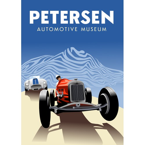 Poster for museum
