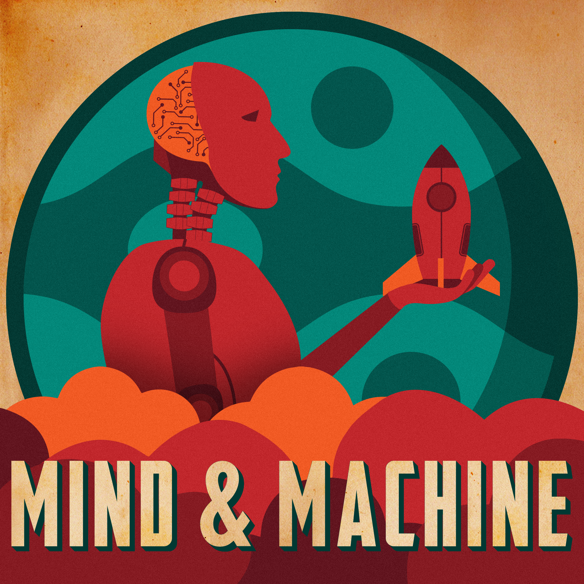 MIND & MACHINE Podcast + Youtube Banner