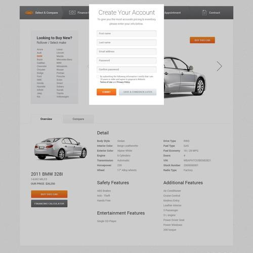 GogoCar.com needs a new website design