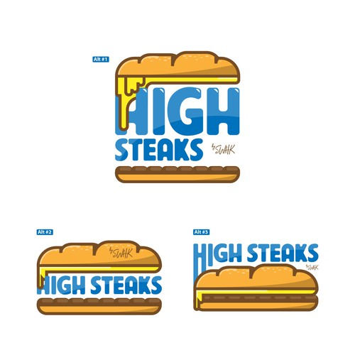 high steaks logo