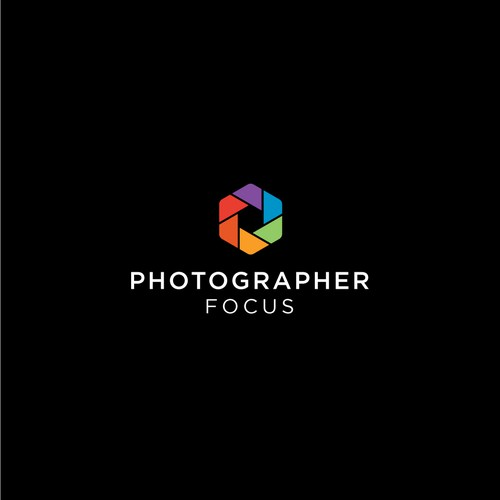 Minimalist Logo for Photographer Focus