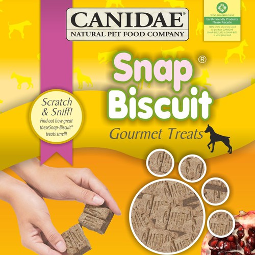 Re-design Packaging for Canidae Natural Dog Treats