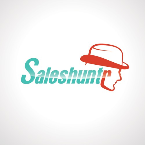 Create the next logo for Saleshuntr (spelling is on purpose)