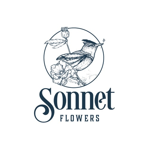 Logo for Sonnet Flowers