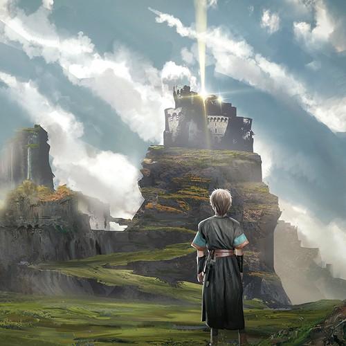 Fantasy Novel Cover Design