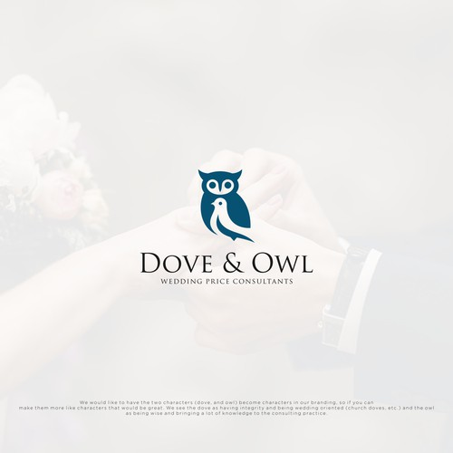 owl and dove