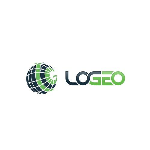 Logo for LOGEO, LOgistics GEO