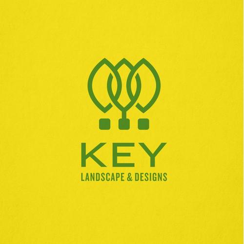Modern and minimalist design for landscape company