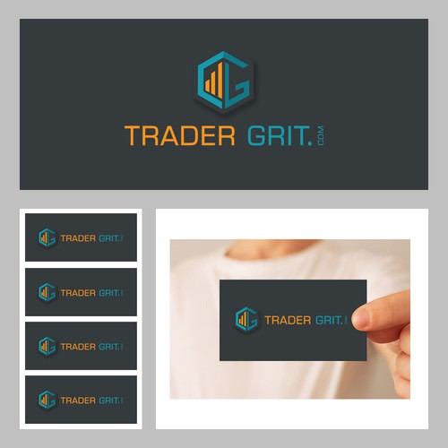 TraderGrit.com Website Logo *Need WOW* Creative Design