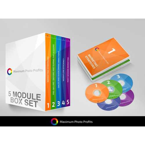 Maximum Photo Profits Mockup and Packaging Design