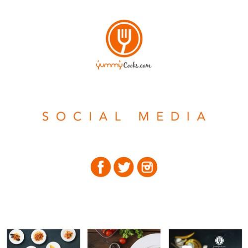 Yummy cooks social media