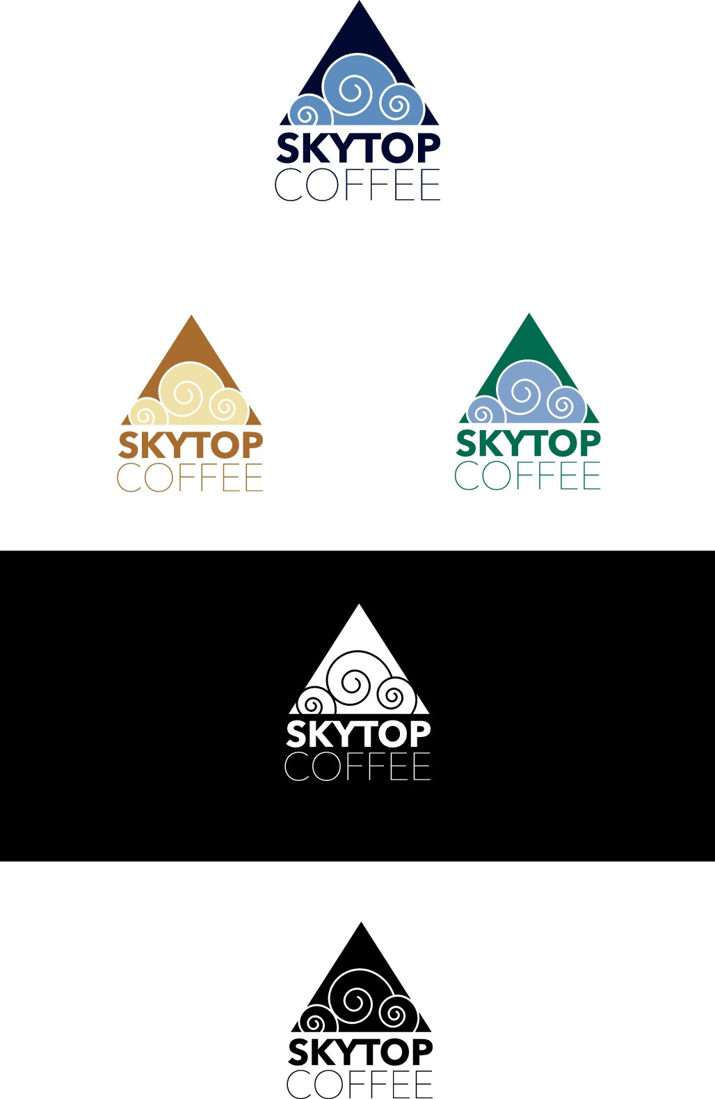 SkyTop Coffee needs a memorable logo for our start up!