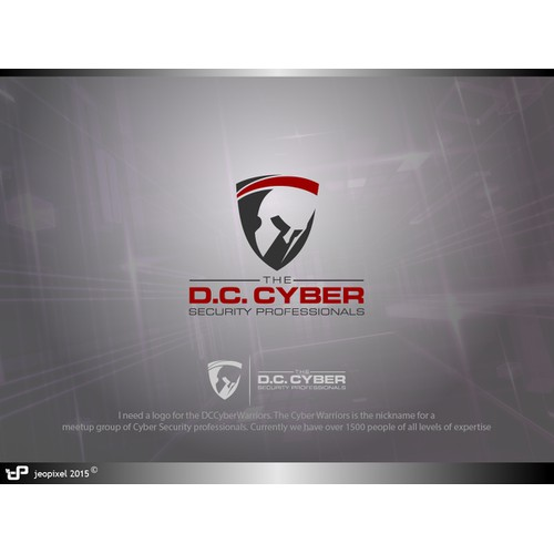 Bold logo design of the DC Cyber Security