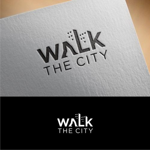 Logo for walking tour company