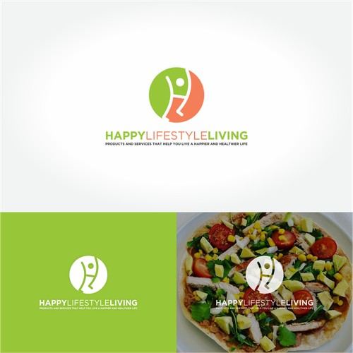 Logo Concept for Happy Lifestyle Living