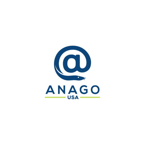 Logo Design for International Seafood Company Anago USA