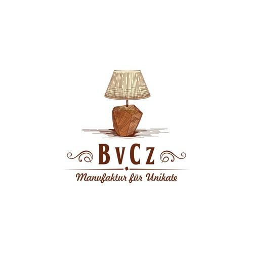 Bold logo concept for lamp manufacturer