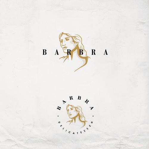 Logo for BARBRA cafe and artist social space