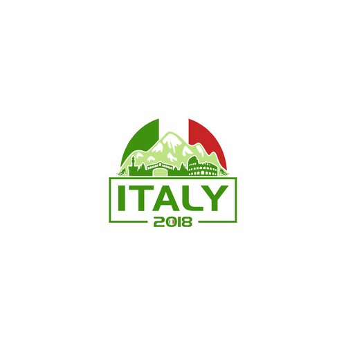 StudyTrip to ITALY logo design for Mexico student..