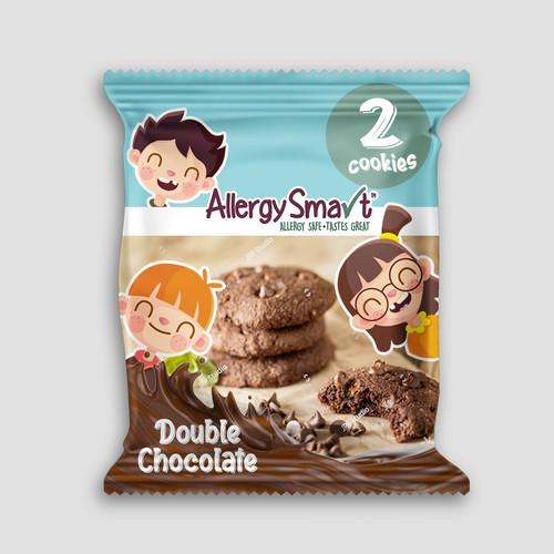 Fun concept for a cookie sachet