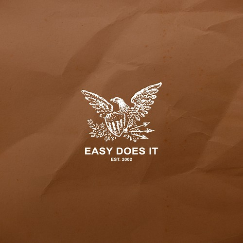 """Easy Does It"" logo design"