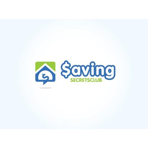 Web 2.0 Style Logo For A Money Saving Website