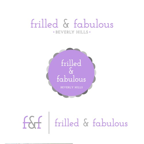 Create a logo for a high-end tween clothing line
