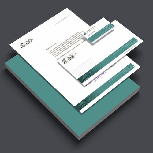 Concept letterhead & envelop