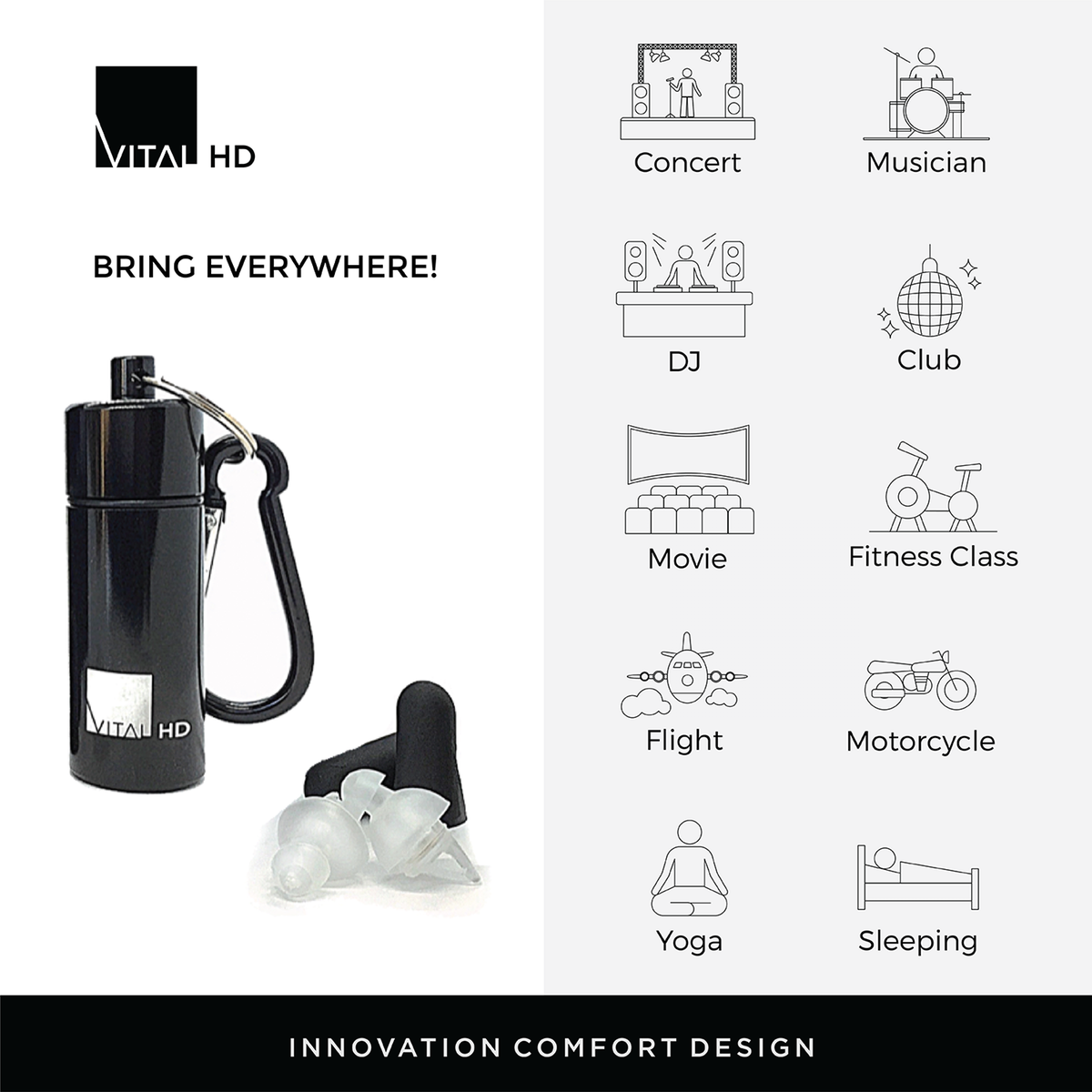 3 product infographic for Amazon listing
