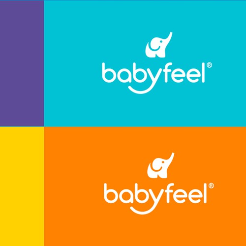 Logo design for a modern brand for premium baby products