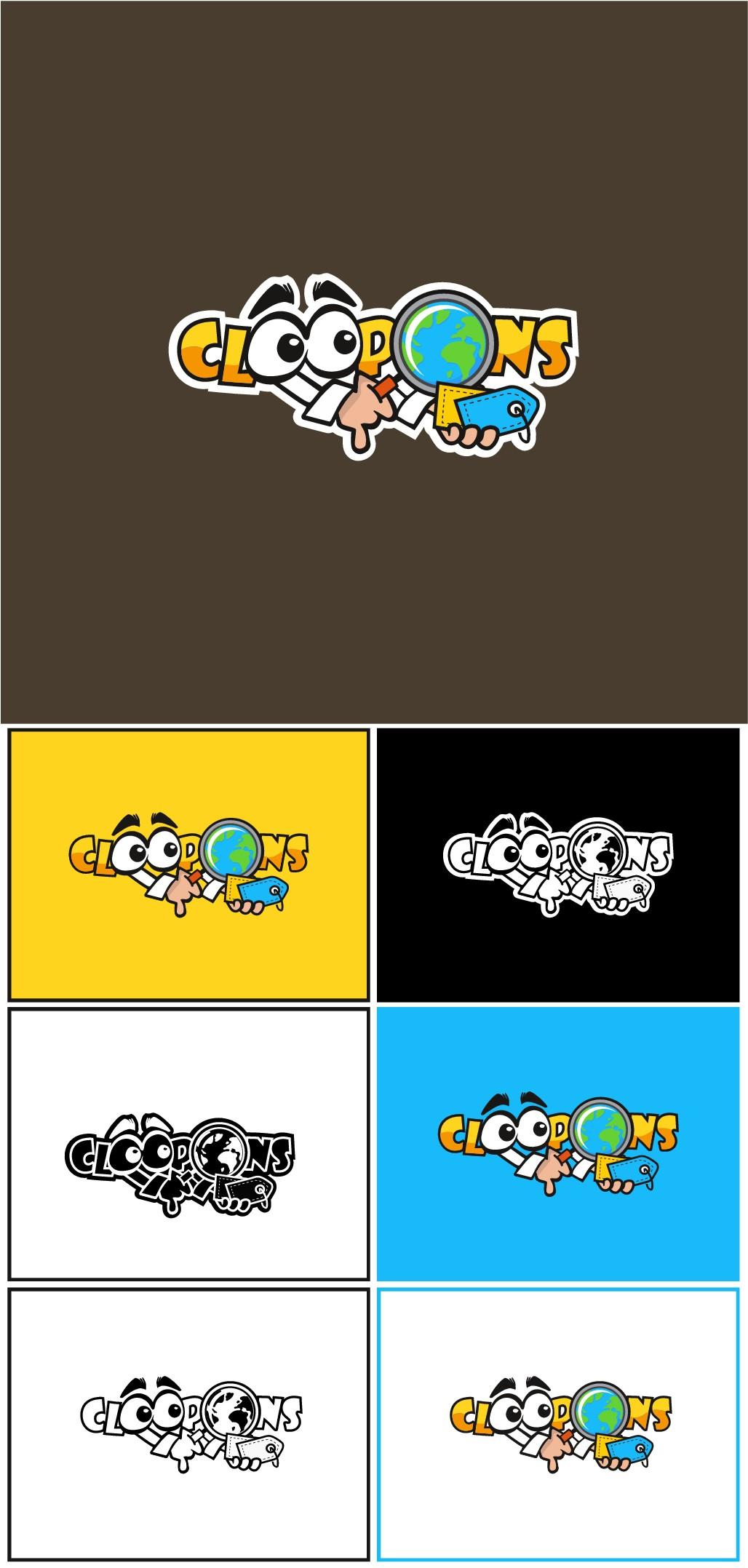 Create a logo for a online treasure hunt!  We hide CLOOPONS!