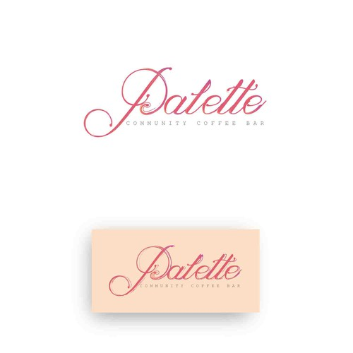 A very feminine and soft logo
