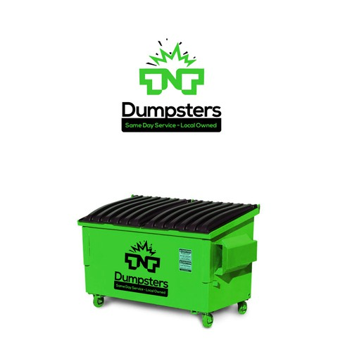 logo tnt dumpsters.